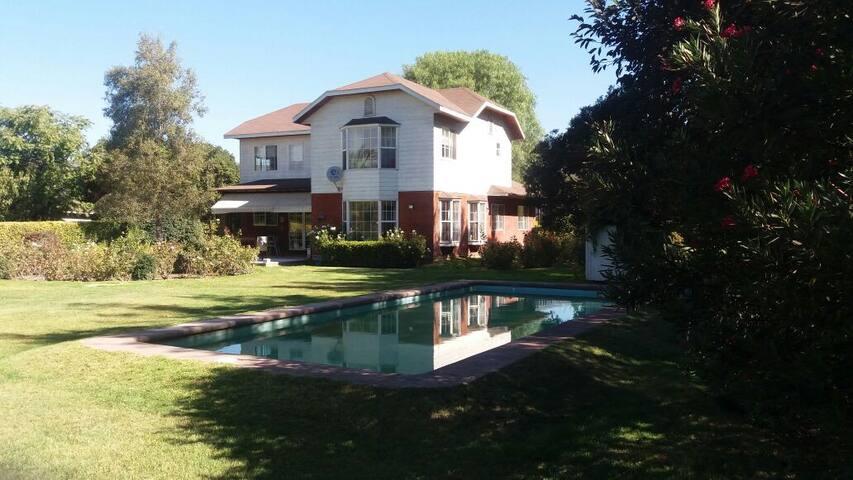 Habitación privada en hermosa casa de campo - Isla de Maipo