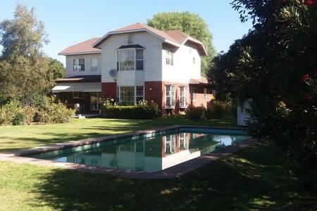 Habitación privada en hermosa casa de campo - Isla de Maipo - Casa