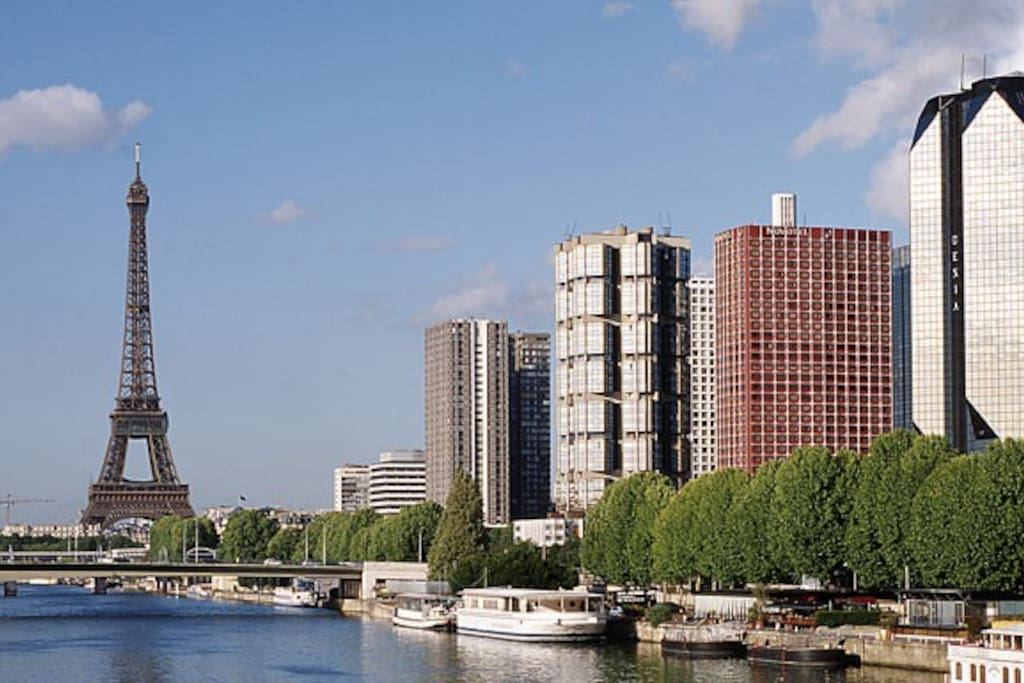 Quartier de Beaugrenelle à 10 mn de la tour Eiffel