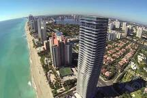 Miami Sunny Isles beach unit right on the ocean