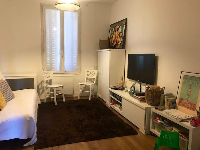 Appartement familiale, cosy aux portes de Paris
