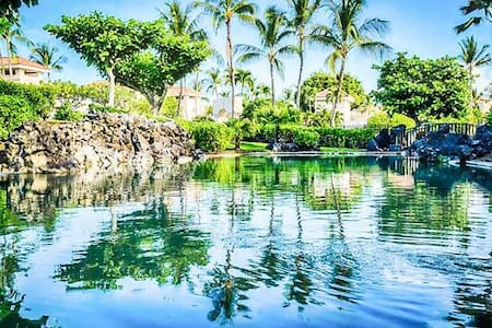 Shores at Waikoloa 124, 2bd/2ba, sleeps 6, golf - Waikoloa Village