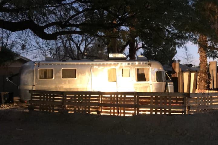 Sunny Airstream Playground