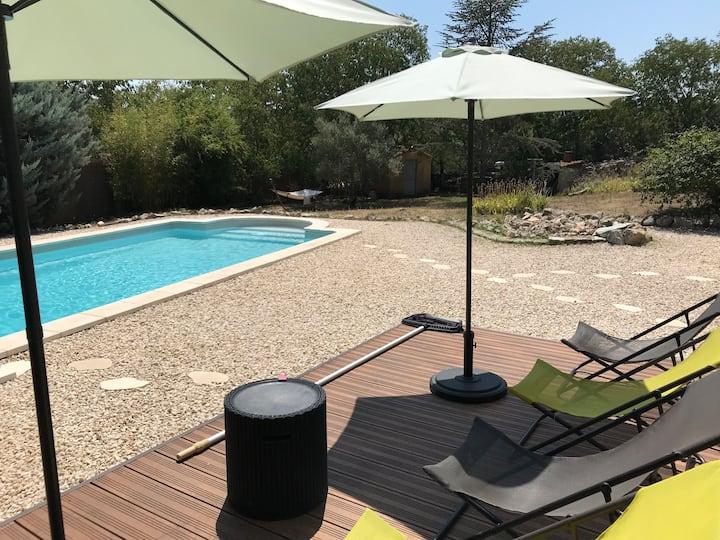 Maison Sud Ardeche avec piscine