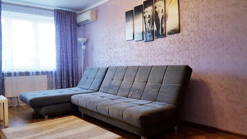 Двухкомнатная квартира с домашним уютом