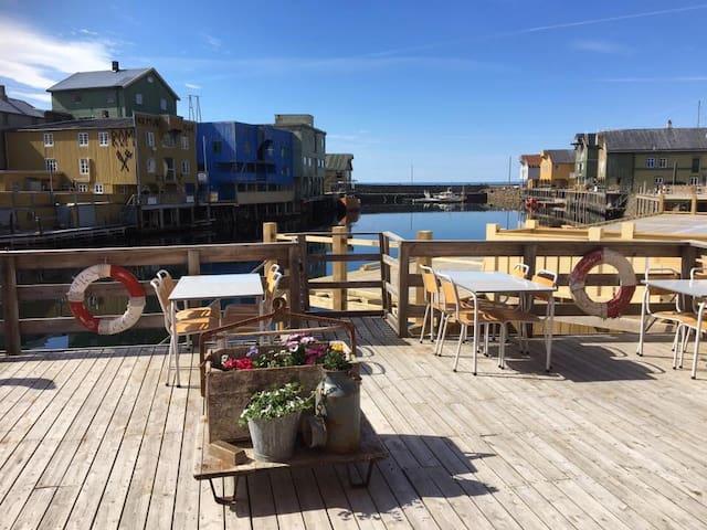 Leilighet i Nyksund havn