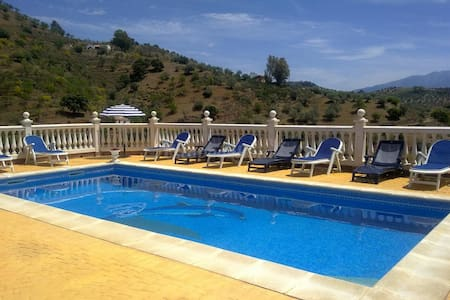 """Rustic Country House """"Casa la escuela del río"""" with Mountain View, Wi-Fi, Pool & Terraces; Parking Available"""