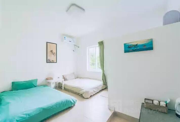 雅致日式双床房