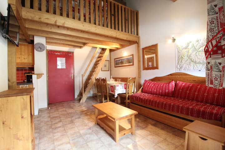 BONB36M - Spacious apartment for 6 persons near the slopes