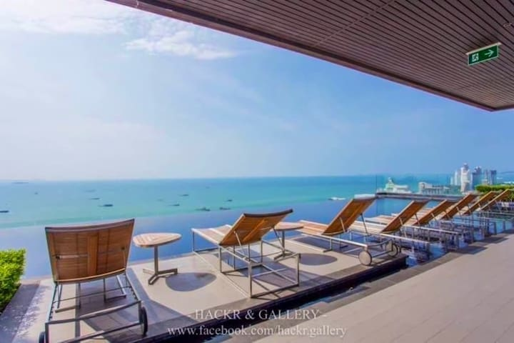 Centric Sea Pattaya 1 BR.  (monthly rent)