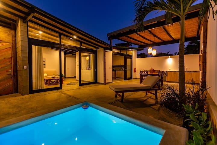 Casas Lua & Mar (Villa 2) - Vichayito - Máncora