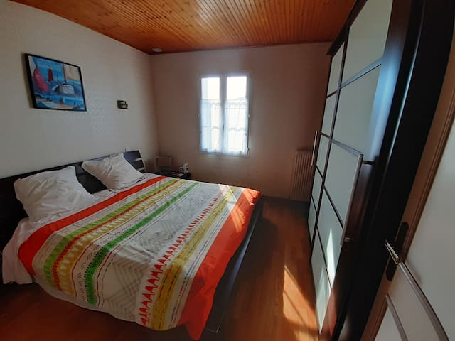 the first bedroom (bed 160*200 cm)