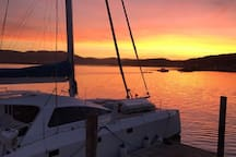 Experience some of the most amazing sunsets from shore or boat!