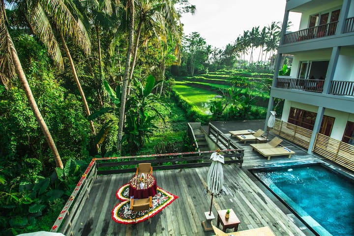 Charming Deluxe With jungle View - Ubud - Overig