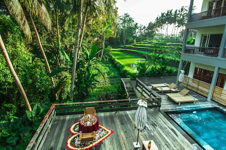 Charming Deluxe With jungle View - Ubud - Andere