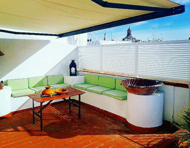 Dúplex monumental area with views and largeterrace - Sevilla - Pis