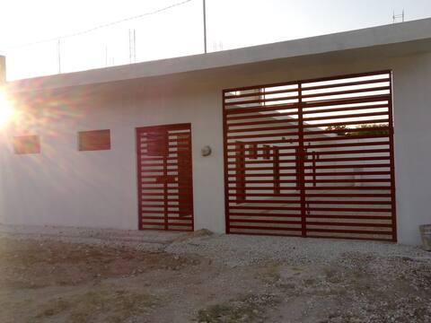 Casa económica para viajeros 4 cuartos