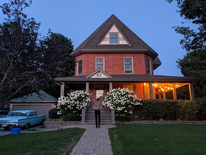 Century home w/ bright kitchen & wrap-around porch