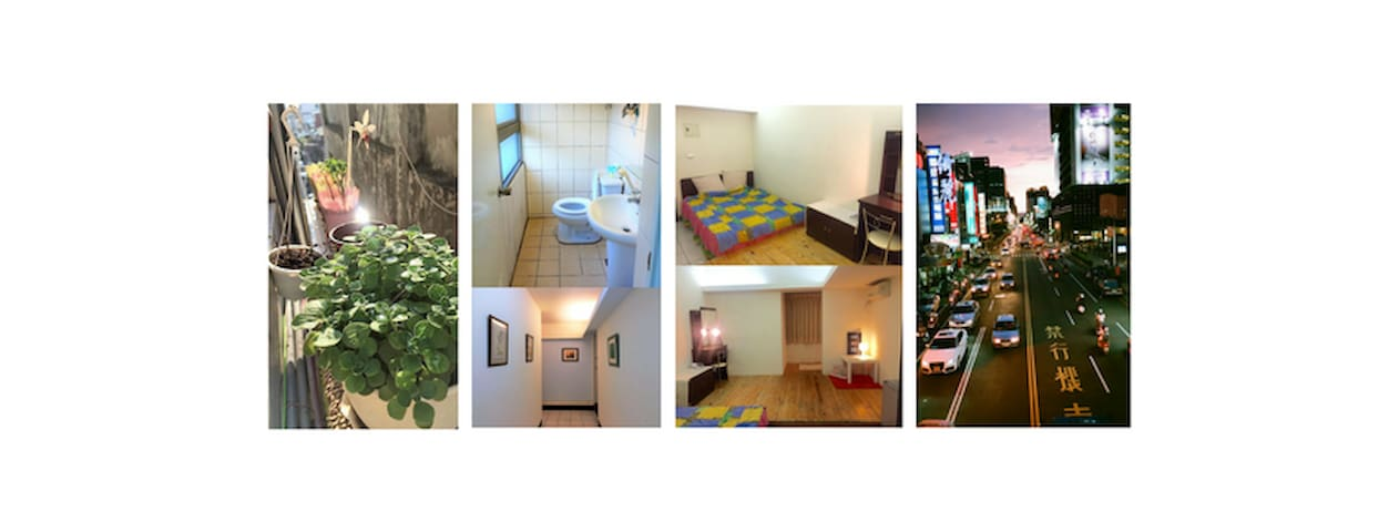 Central Taichung Secured Elevator En-suite Room