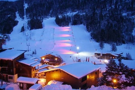 Appart Cosy 4pers - Magnifique vue pistes - Villarodin-Bourget - อพาร์ทเมนท์