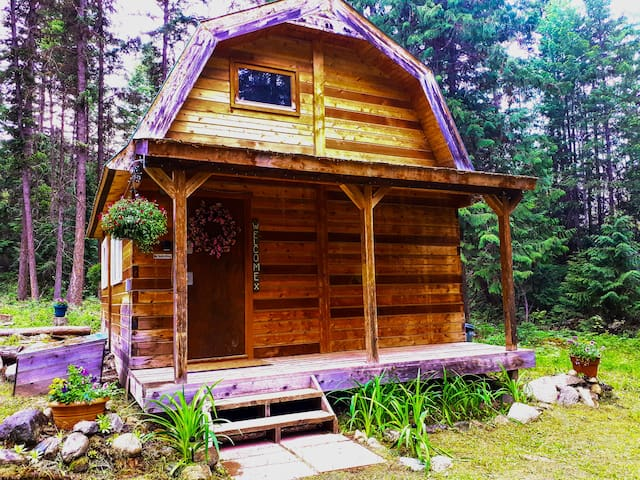 Lost Creek Cottage Glamping Cabin near Wells Gray