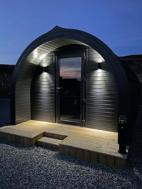 Allt Yelkie Pods Skye Coig Luxury Glamping Earlish