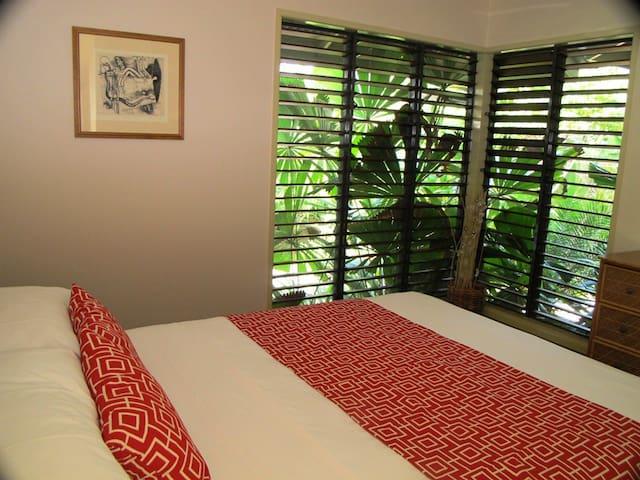 Breeya - Bedroom No 2 - comfy queen bed