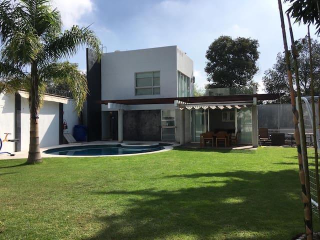 Preciosa casa de descanso en Tepotzotlán