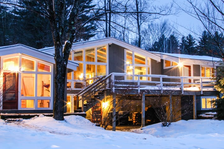 Beautiful Chalet close to the mountain and beer! - Stowe
