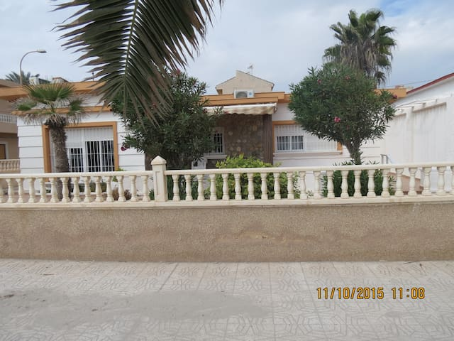 chalet a la orilla de la playa - Pilar de la Horadada