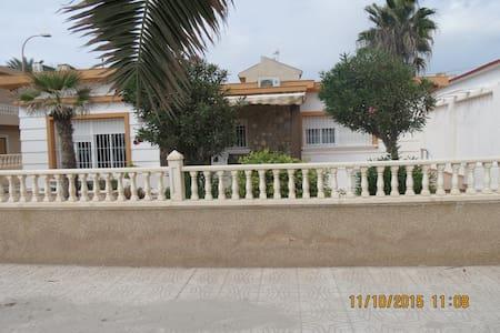chalet a la orilla de la playa - Pilar de la Horadada - Chalet
