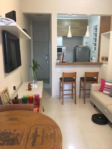 Aconchegante apartamento em Botafogo