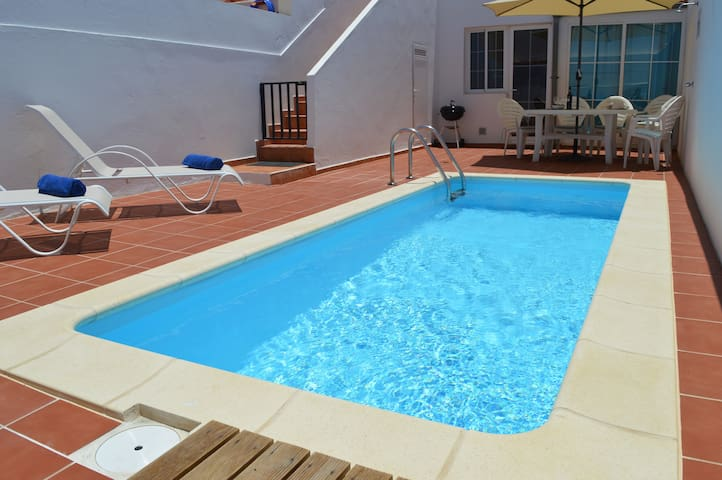 Family Villa-Private Heated Pool - Castillo Caleta de Fuste - Villa