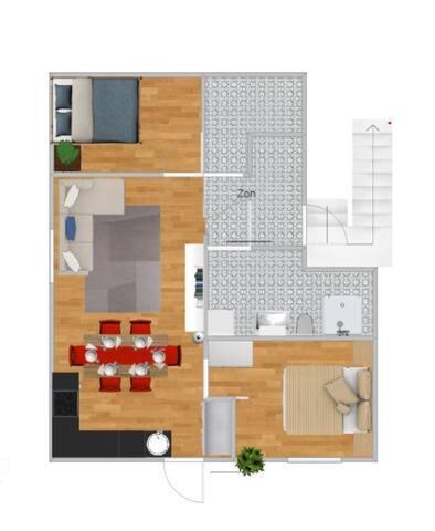 Charming penthouse apartment - Malmö - Apartment