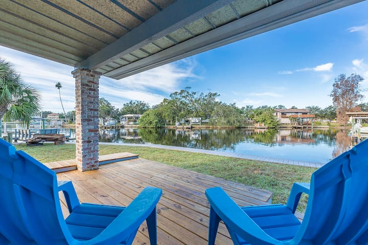 The sand the sun the waves the fun! Presenting Spring Bayou Bungalows in the charming coastal town of Tarpon Springs known for its Mediterranean ambiance.
