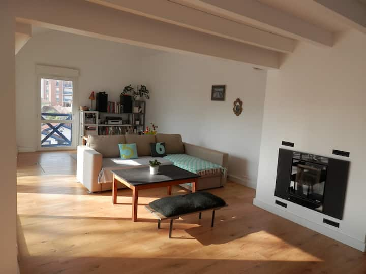 Maison 150m2 avec belle terrasse, Beaurivage