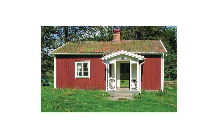 Holiday cottage with 1 bedroom on 46m² in Vimmerby