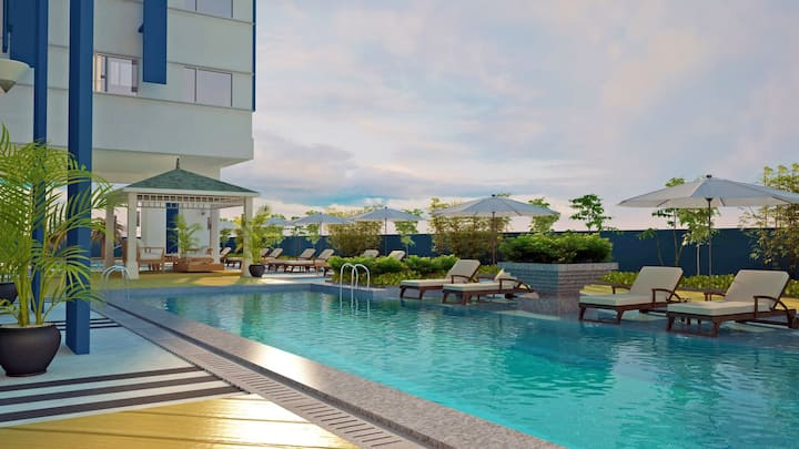 Princeton Residences-Fast Wifi-Quezon City-Clean