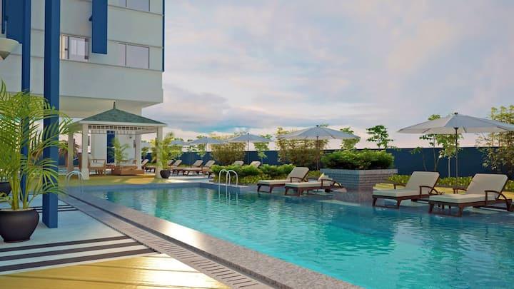 Princeton Residences-Fast Wifi-Quezon City-Clean