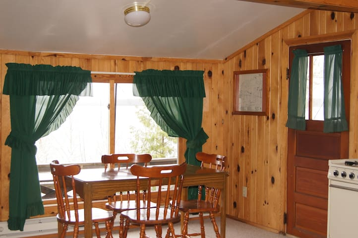 Lakeside cabin at traditional fishing resort