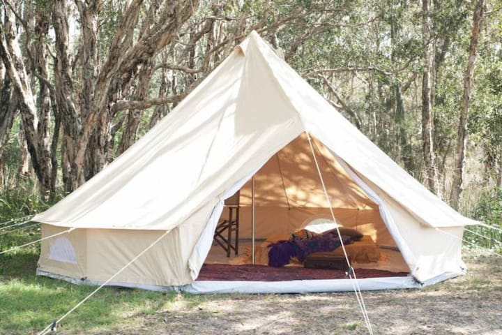 Glamping bell tents  - economical and romantic! - SA - Boutique hotel