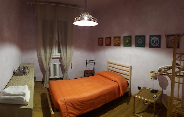 Beltramina Bedroom - Chakras Room with kitchen
