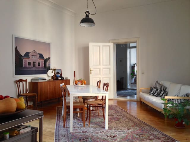 Communal kitchen in the heart of the apartment