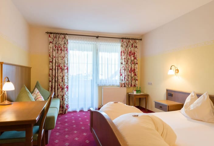 Hotel Romantik Krone  Romantic double room with balcony