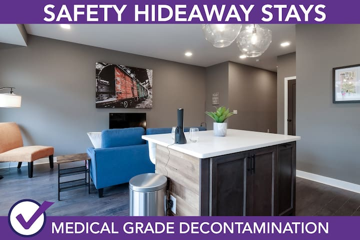 Safety Hideaway - Medical Grade Clean Home 82