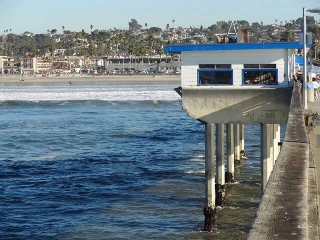 Point Loma (Ocean Beach) Cozy and Shiny Bedroom - San Diego - Apartamento
