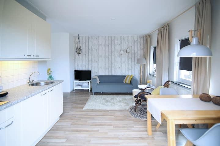 Sfeervol appartement aan de rand van De Lutte