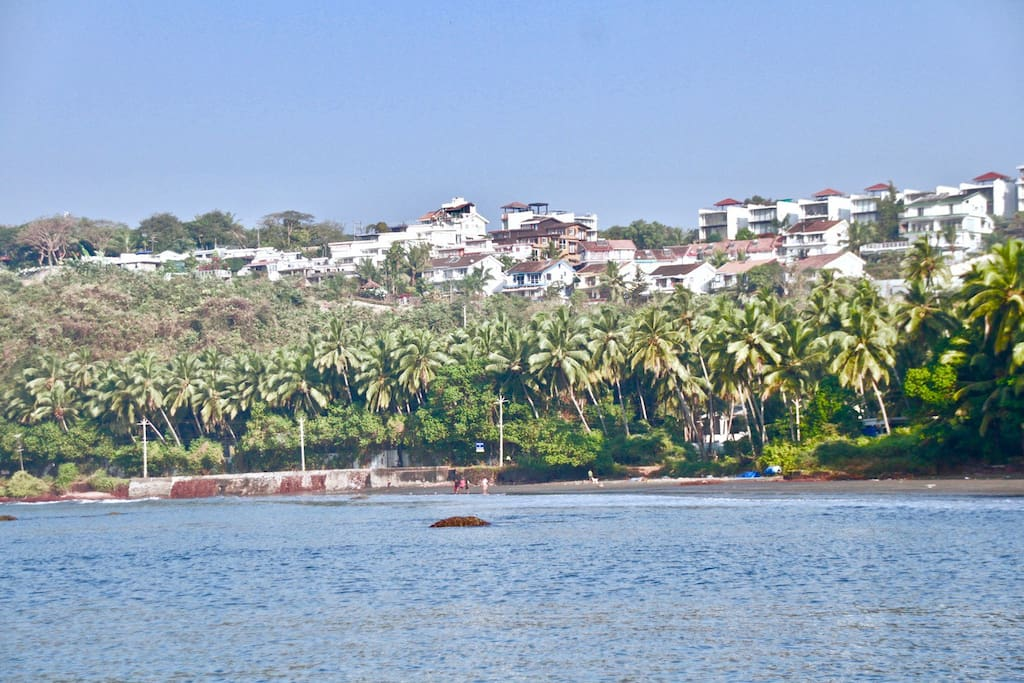 Colony & Villa as Seen from Sea