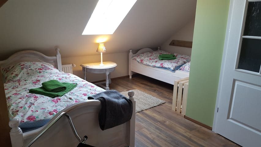 Scheunen Doppelzimmer Seminar  Landhaus Schönbeck