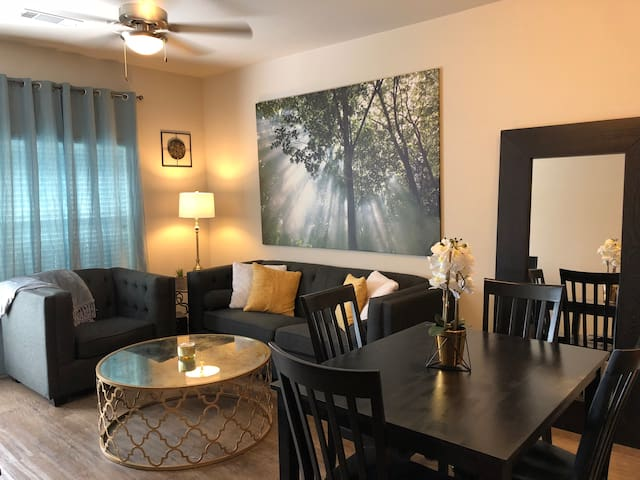 Stylish Katy apartment... mins from the city!